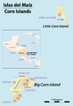 Map of the Corn Islands (Nicaragua).png
