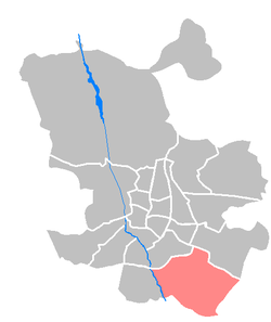 Location of Villa de Vallecas