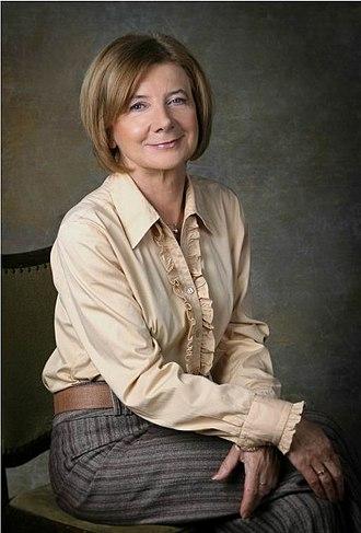 Maria Kaczyńska - Image: Maria Kaczynska (official portrait)