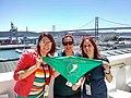 Mariana Fossatti, Javiera Atenas y Marcela Basch por el Aborto Legal - Creative Commons Global Summit 2019, Lisboa.jpg