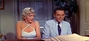 Romantic comedy film - Marilyn Monroe and Tom Ewell in The Seven Year Itch (1955) trailer.