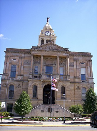 Marion County, Ohio - Image: Marion County Ohio Courthouse