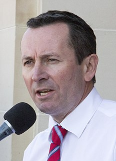 Mark McGowan Australian politician