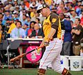 Mark Trumbo competes in semifinals of '16 T-Mobile -HRDerby. (28285838060).jpg