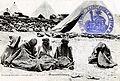 Maroc, carte postale, juillet 1914, colonne Kenifra, prisonniers Zaïans.jpg