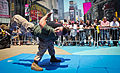 Martial Art Demo 02 during Marine Day Times Square, May 27 - Fleet Week New York 2011.jpg