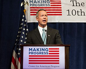 Center for American Progress - Gov. Martin O'Malley speaking at CAP