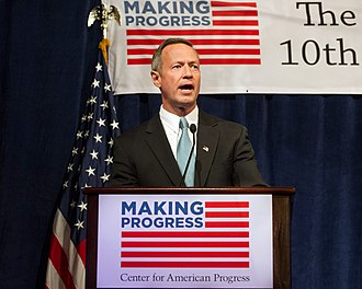 Center for American Progress - Governor Martin O'Malley speaking at the Center for American Progress