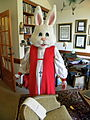 Martin de Jesus Barahona dressed as the Easter Bunny.jpg