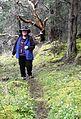 Mary Ellen on the hunt for flowers - Flickr - brewbooks.jpg