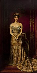 Portrait of Mary Curzon, Baroness Curzon of Kedleston