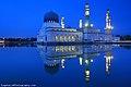 Masjid Bandaraya Kota Kinabalu waktu malam.jpg