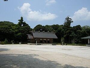 Matsue incident - Matsue Gokoku Shrine, photo taken in 2008