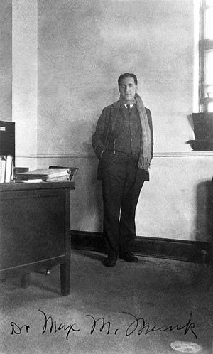 Michael Max Munk - Max M. Munk, chief of aerodynamics, in his office at Langley, 1926
