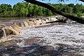McKinney upper falls flooding 2007.jpg