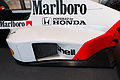 McLaren MP4-5 (Prost) side pod Honda Collection Hall.jpg