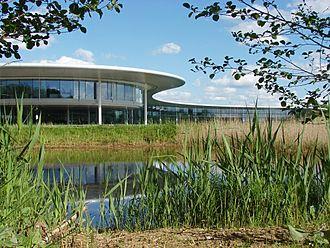 McLaren Technology Centre - Image: Mc Laren Technology Centre geograph 4478964 by Alan Hunt