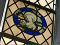Medieval stained glass roundel, Newcastle cathedral.jpg