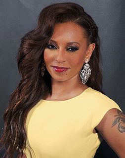 Mel B British singer, songwriter, rapper, TV personality, television presenter and actress