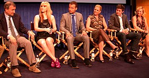 Paley Center for Media - Image: Melissa & Joey cast and crew at Paley Center