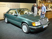 Mercedes benz type 124 wikip dia for Mercedes benz 1986 e300