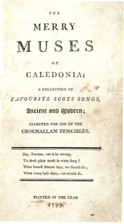 The Merry Muses of Caledonia