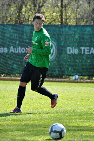 Mesut Özil - Özil with Werder Bremen in April 2010
