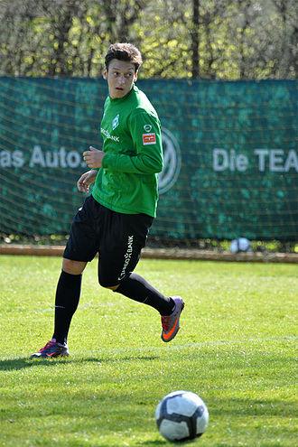 Mesut Özil - Özil with Werder Bremen in April 2010