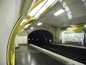 Falguière (Paris Métro) - Image: Metro Paris Ligne 12 Station Falguiere