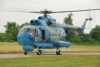 Amphibious helicopter - Polish Navy Mil Mi-14PL