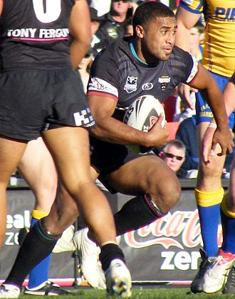 Michael Jennings (rugby league) - Image: Michael Jennings Penrith Panthers