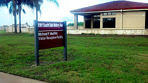 MacDill Air Force Base - MacDill Air Force Base Michael Moffitt Visitor Reception Facility. Dedicated in 2002 to Lt Col Michael Moffitt, USAF (Ret)