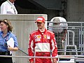 Michael Schumacher after 2005 United States GP (20413937).jpg