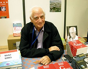 English: French philosopher Michel Serres at t...