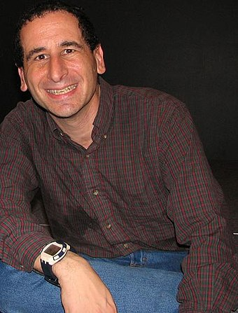 Mike Reiss and Jean worked as show runners of The Simpsons together. Mikereiss.jpg