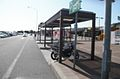 Miki S.A two-wheeled vehicle parking lot up line.JPG
