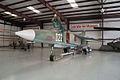 Mikoyan-Gurevich MiG-23UB Flogger-C LFront CWAM 8Oct2011 (14444319528).jpg
