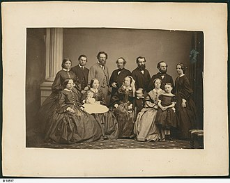 Henry Mildred - Four Generations of the Mildred Family; April 1864.