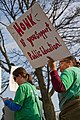Milwaukee Public School Teachers and Supporters Picket Outside Milwaukee Public Schools Adminstration Building Milwaukee Wisconsin 4-24-18 1107 (41015500584).jpg