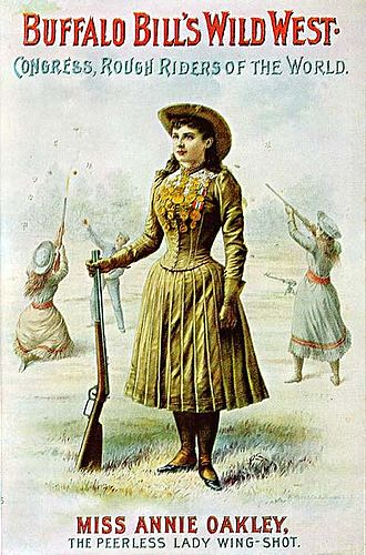 Annie Oakley - Buffalo Bill's Wild West poster
