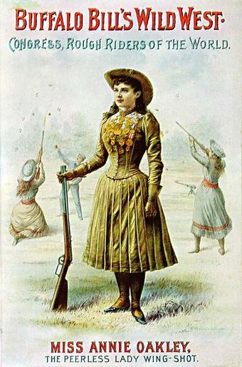 Buffalo Bill's Wild West poster Miss-Annie-Oakley-peerless-wing-shot.jpg
