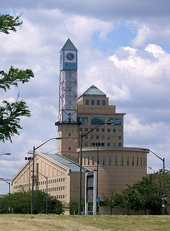 English: Mississauga City Hall Obtained from P...