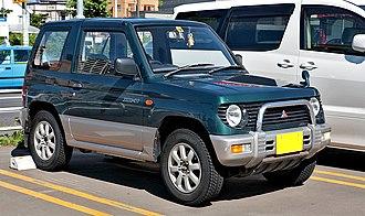 Mitsubishi Pajero Mini - Image: Mitsubishi Pajero Mini 001