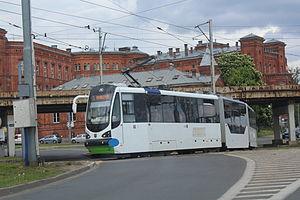 Trams in Szczecin - Moderus Beta type from 2014