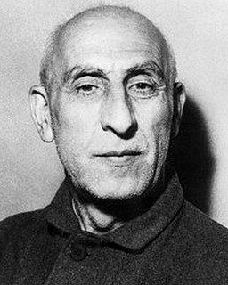 Mohammad Mosaddegh Prime Minister of Iran in the 1950s
