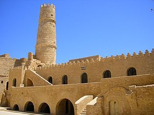 Monastir, Tunisia - The Ribat in Monastir