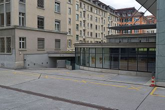 Investigation Bureau for Railway, Funicular and Boat Accidents - Former IRFBA head office in Bern.