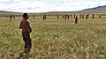 Mongolian service members recover after a pepper spray qualification course during Non-Lethal Weapons Executive Seminar (NOLES) 13 at Five Hills Training Area, Mongolia, Aug. 21, 2013 130821-M-DR618-181.jpg