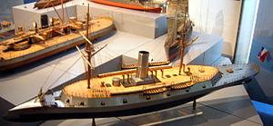 USS Dunderberg - Image: Monitor like vessel model 2
