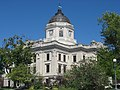 Monroe County Courthouse in Bloomington from southwest.jpg